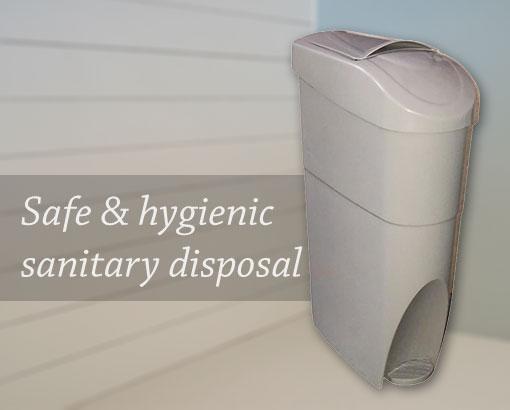 Safe and hygienic disposal of feminine sanitary wastes