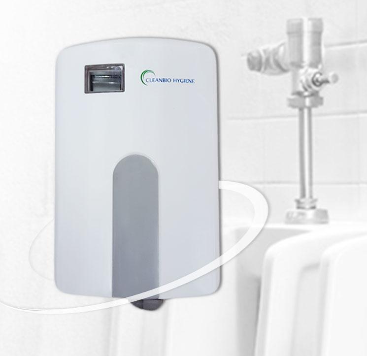 washroom urinal sanitiser
